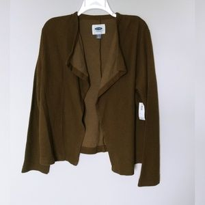 Old Navy Open Front Lightweight Cardi L